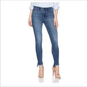 William Rast sculptured hi rise skinny jeans